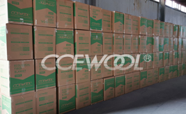 Canadian customers - CCEWOOL soluble fiber blanket was delivered