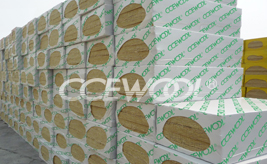 Indonesian customer - 7 containers of CCEWOOL insulation rock wool board
