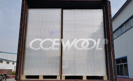 Turkey customer - CCEWOOL ceramic fiber board was delivered