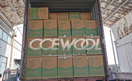 UK customer - CCEWOOL soluble insulation fiber blanket delivery