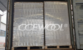 Russian customer - CCEWOOL ceramic fiber insulation board delivery