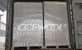 Russian customer - CCEWOOL ceramic fiber insulation board delivery
