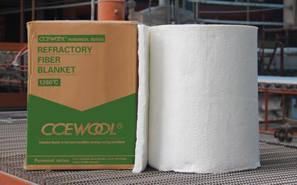 CCEWOOL® PUREWOOL series ceramic fiber blanket