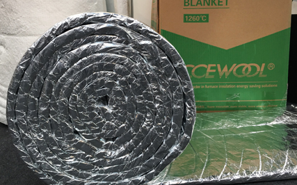 CCEWOOL® research series ceramic fiber aluminum foil blanket
