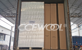 CCEWOOL high temperature ceramic fibre board delivery
