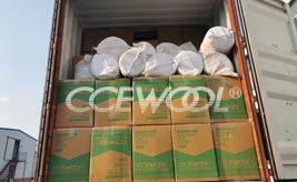 Dominican customer - CCEWOOL insulation ceramic wool blanket