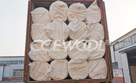 Salvador customer - CCEWOOL insulation ceramic wool blanket