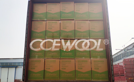 CCEWOOL insulation ceramic fiber blanket delivery