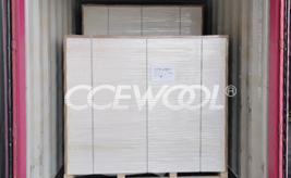 Spanish customer - CCEWOOL large size ceramic fiber board