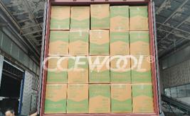 Dominican customer - CCEWOOL ceramic fiber blanket insulation