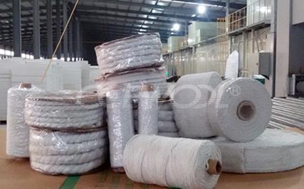 Soluble Ceramic Fiber Yarn