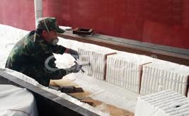 CCEWOOL ceramic fiber module application example
