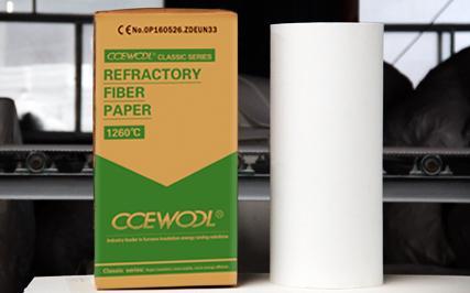 Ceramic Fiber Retardant Paper