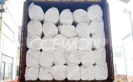 Portugual customer's ceramic fiber blanket order case