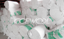 Delivery of CCEWOOL ceramic fiber blanket