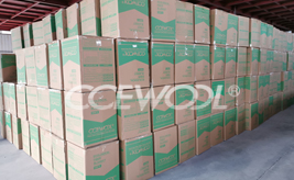 CCEWOOL soluble fiber blanket was delivered